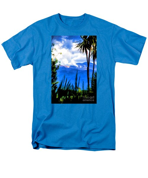 Men's T-Shirt  (Regular Fit) featuring the photograph Blowing Steam by Rick Bragan