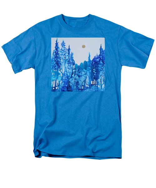Blue Forest Men's T-Shirt  (Regular Fit) by Suzanne Canner