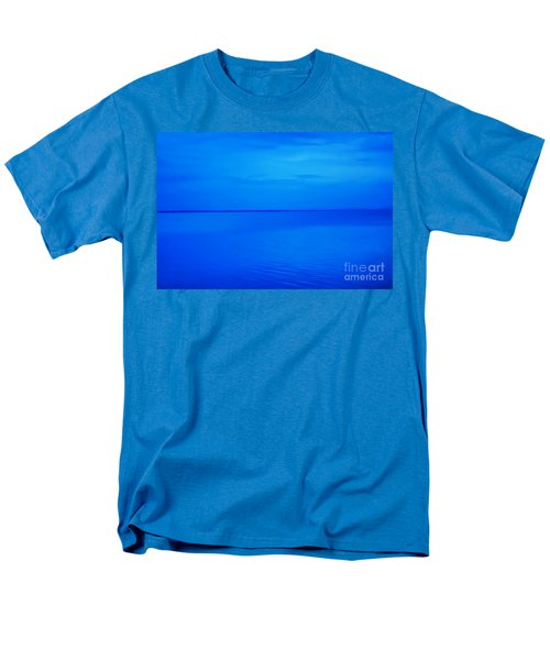 Blue Ocean Twilight Men's T-Shirt  (Regular Fit) by Randy Steele