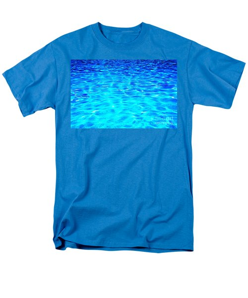 Men's T-Shirt  (Regular Fit) featuring the photograph Blue Or Green by Ramona Matei
