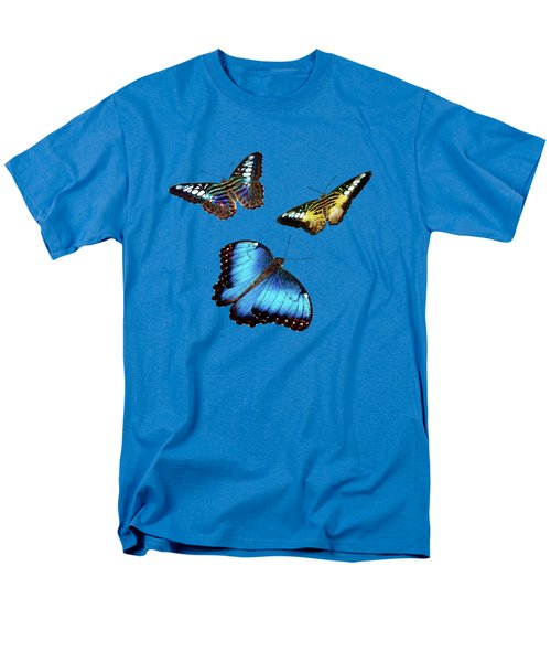 Butterflies Men's T-Shirt  (Regular Fit) by Phyllis Denton