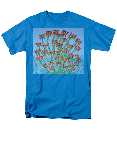 Butterfly Motion Men's T-Shirt  (Regular Fit)