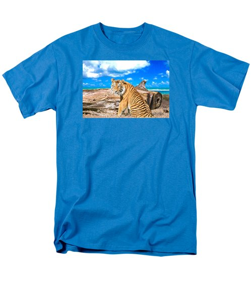 By The Sea Men's T-Shirt  (Regular Fit) by Judy Kay
