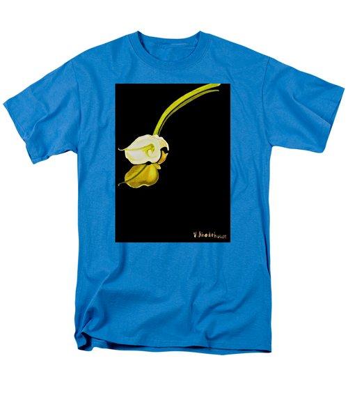 Calla Lily Reflection Men's T-Shirt  (Regular Fit)