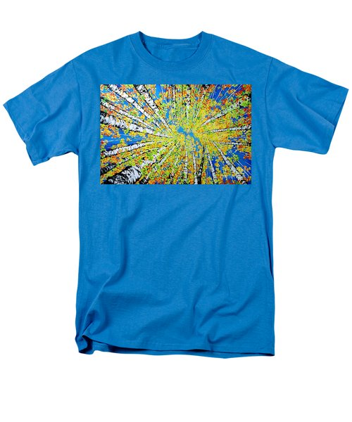 Calming Canopy Men's T-Shirt  (Regular Fit) by Jackie Carpenter