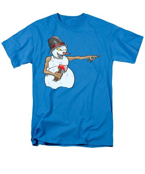 Christmas Horror Nightmares Men's T-Shirt  (Regular Fit)