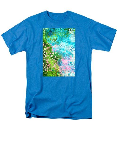Colorful Art - Enchanting Spring - Sharon Cummings Men's T-Shirt  (Regular Fit) by Sharon Cummings