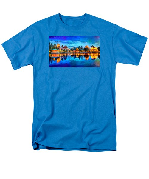 Coronado Springs Resort Men's T-Shirt  (Regular Fit) by Caito Junqueira