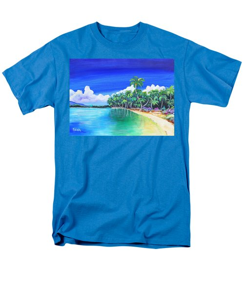 Crescent Beach Men's T-Shirt  (Regular Fit) by Patricia Piffath