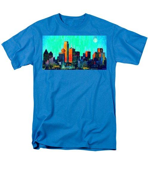 Dallas Skyline 74 - Da Men's T-Shirt  (Regular Fit)