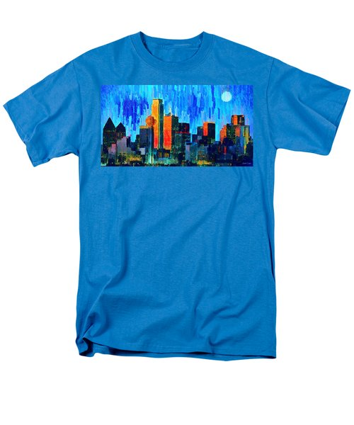 Dallas Skyline 76 - Pa Men's T-Shirt  (Regular Fit)