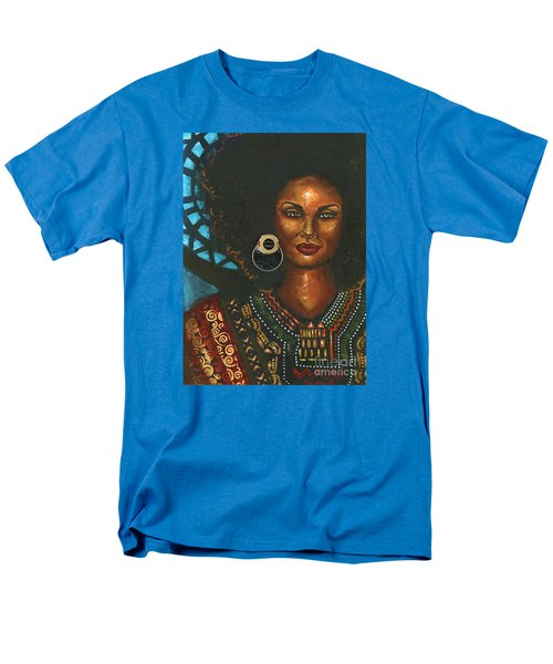 Men's T-Shirt  (Regular Fit) featuring the painting Dashiki by Alga Washington