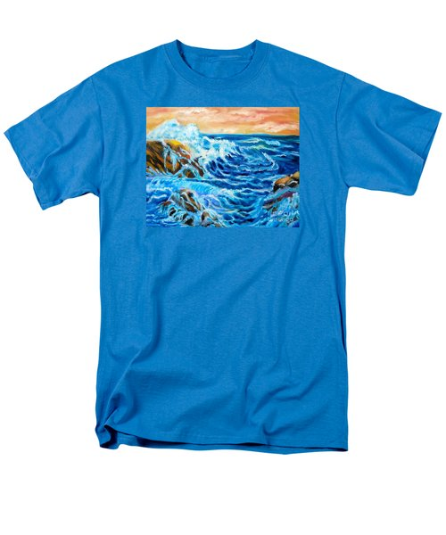Men's T-Shirt  (Regular Fit) featuring the painting Deep by Jenny Lee