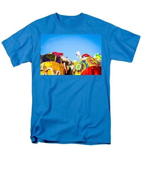 Men's T-Shirt  (Regular Fit) featuring the photograph Dragon Dance by Bobby Villapando