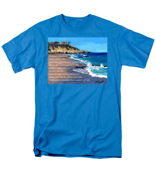 Dream Forward Men's T-Shirt  (Regular Fit) by Alice Leggett