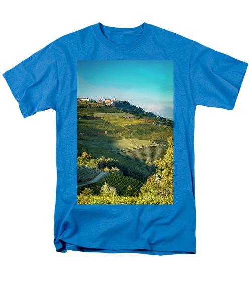 Men's T-Shirt  (Regular Fit) featuring the photograph Evening In Piemonte by Brian Jannsen
