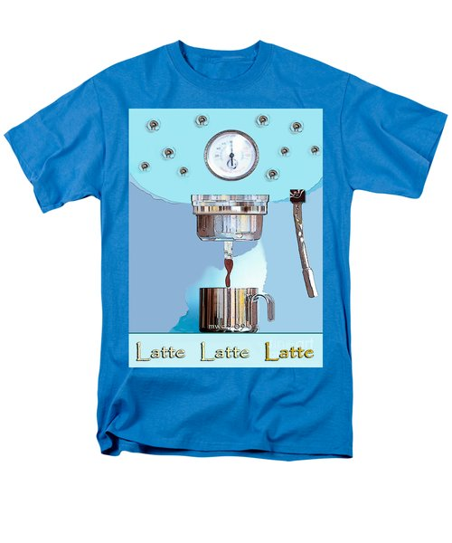 Fantasy Espresso Machine Men's T-Shirt  (Regular Fit) by Marian Cates