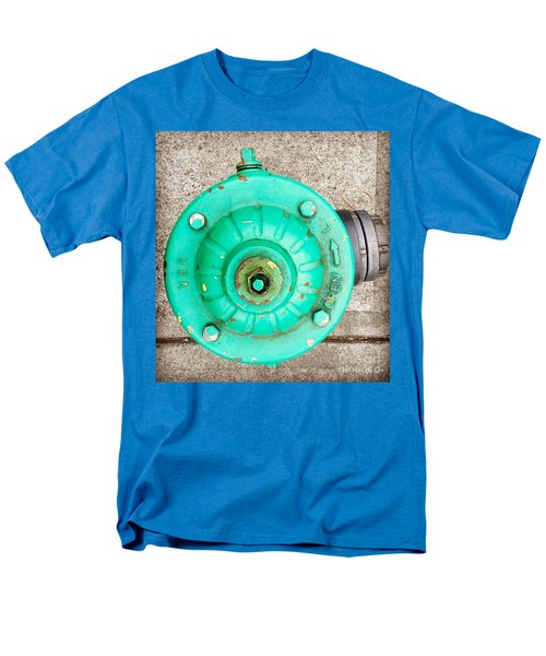 Fire Hydrant #6 Men's T-Shirt  (Regular Fit) by Suzanne Lorenz