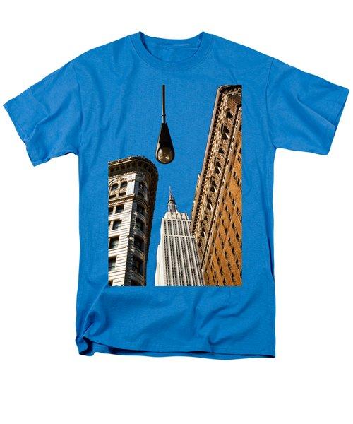 Flatiron District Men's T-Shirt  (Regular Fit) by Paul Lamonica