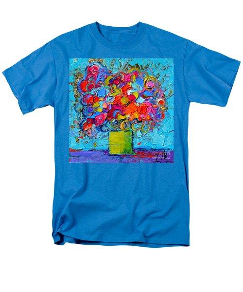 Floral Miniature - Abstract 0415 Men's T-Shirt  (Regular Fit)