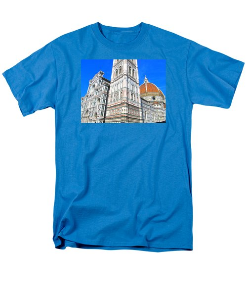 Florence Duomo Cathedral Men's T-Shirt  (Regular Fit) by Lisa Boyd