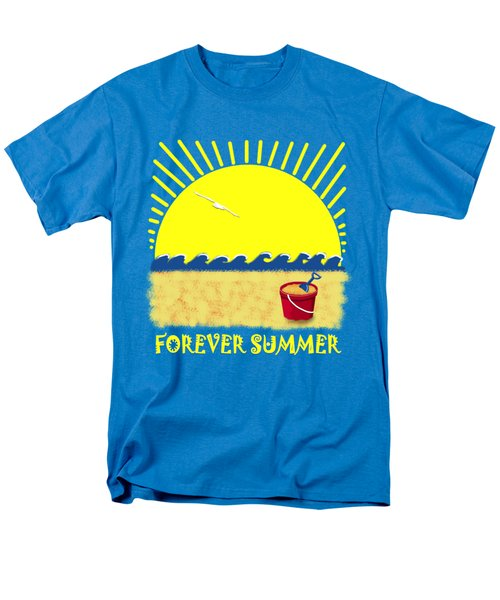 Forever Summer 8 Men's T-Shirt  (Regular Fit) by Linda Lees