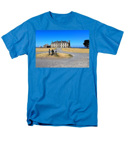 Fort Niagara  Men's T-Shirt  (Regular Fit) by Raymond Earley