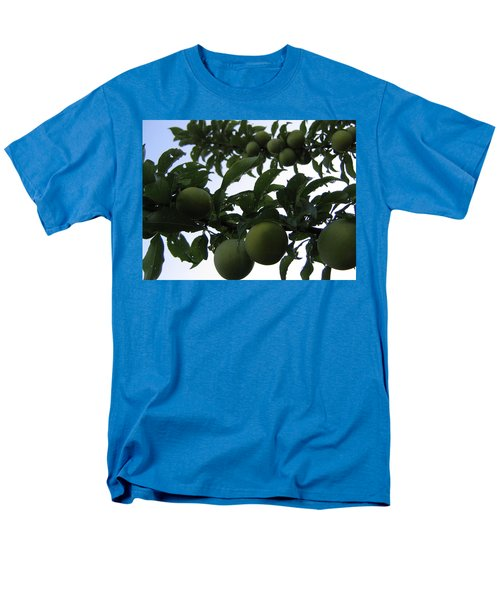 Fruit And Sky_raindrops Men's T-Shirt  (Regular Fit) by Barbara Yearty
