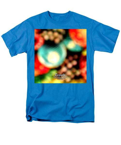 Fruit Sticker Men's T-Shirt  (Regular Fit) by Barbara Tristan