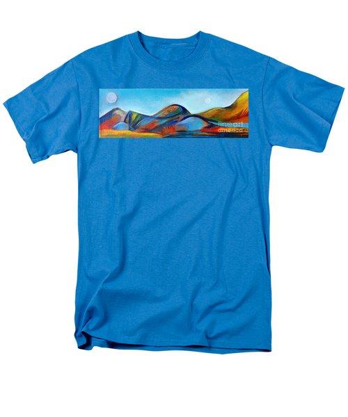 Galaxyscape Men's T-Shirt  (Regular Fit) by Elizabeth Fontaine-Barr