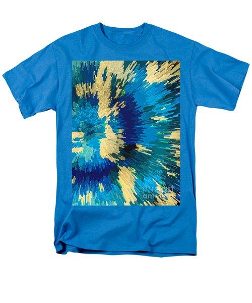 Genetically  Modified Dahlia Men's T-Shirt  (Regular Fit) by Moustafa Al Hatter