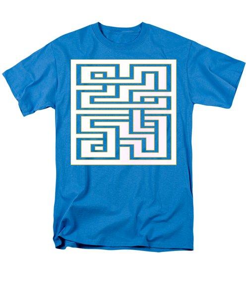 Men's T-Shirt  (Regular Fit) featuring the digital art Geo 7 - Transparent by Chuck Staley