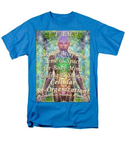 Getting Super Chart For Affirmation Visualization V3u Men's T-Shirt  (Regular Fit) by Christopher Pringer