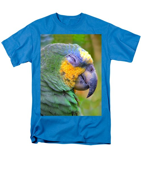 Men's T-Shirt  (Regular Fit) featuring the photograph Happy 2 by Wendy McKennon