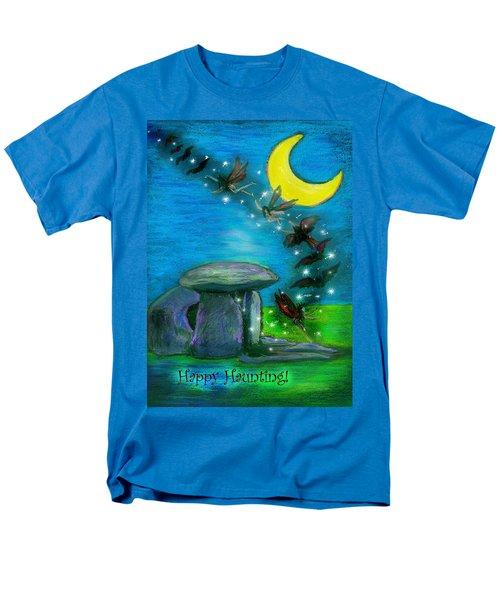 Happy Haunting Men's T-Shirt  (Regular Fit) by Diana Haronis