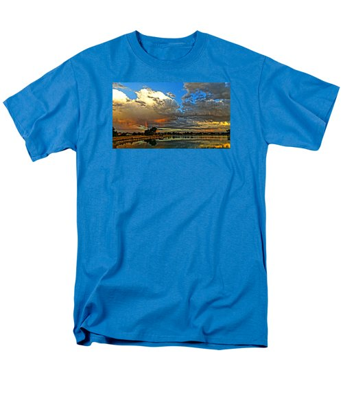 Harper Lake Men's T-Shirt  (Regular Fit) by Eric Dee