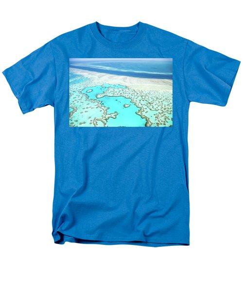 Men's T-Shirt  (Regular Fit) featuring the photograph Heart Reef by Az Jackson