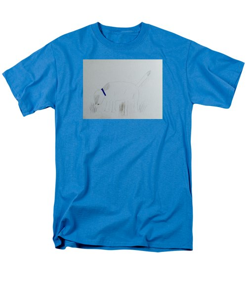 Men's T-Shirt  (Regular Fit) featuring the drawing Here Boy by Alohi Fujimoto