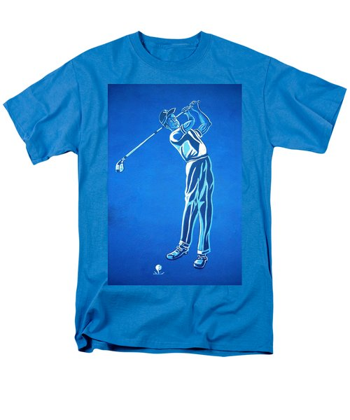 Men's T-Shirt  (Regular Fit) featuring the photograph Hole In One ... by Juergen Weiss