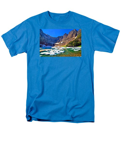 Men's T-Shirt  (Regular Fit) featuring the photograph Iceberg Lake by Greg Norrell