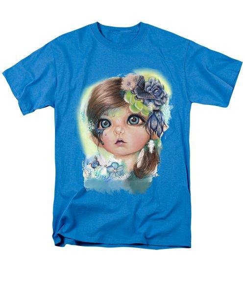 Indigo - Butterfly Keeper - Munchkinz By Sheena Pike  Men's T-Shirt  (Regular Fit) by Sheena Pike