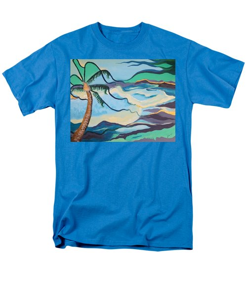 Jamaican Sea Breeze Men's T-Shirt  (Regular Fit) by Jan Steinle