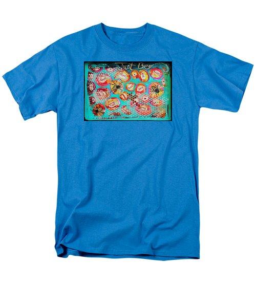 Just Bee Men's T-Shirt  (Regular Fit) by DAKRI Sinclair