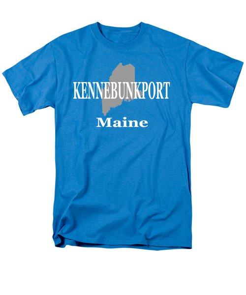 Men's T-Shirt  (Regular Fit) featuring the photograph Kennebunk Maine State City And Town Pride  by Keith Webber Jr