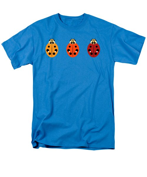 Ladybug Trio Horizontal Men's T-Shirt  (Regular Fit) by MM Anderson