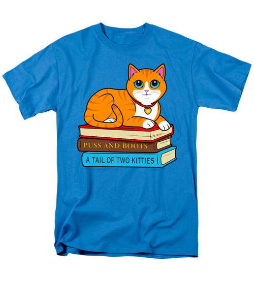 Purrfect Library Cat Men's T-Shirt  (Regular Fit) by A