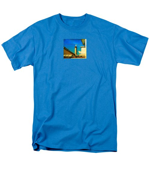 Men's T-Shirt  (Regular Fit) featuring the photograph Malamoccoskyline No1 by Anne Kotan