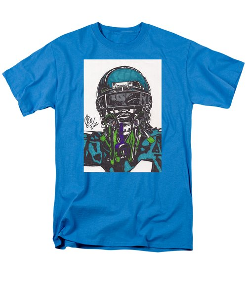 Marshawn Lynch 1 Men's T-Shirt  (Regular Fit) by Jeremiah Colley