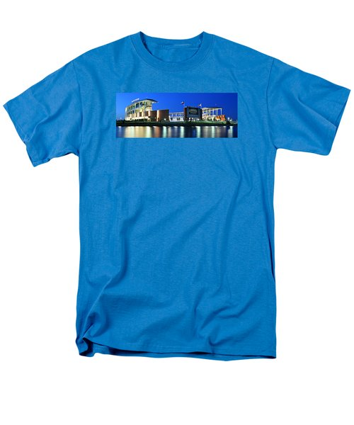 Mclane Stadium Panoramic Men's T-Shirt  (Regular Fit) by Stephen Stookey