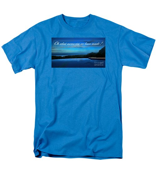 Men's T-Shirt  (Regular Fit) featuring the photograph Memories We Have Made by Pamela Blizzard